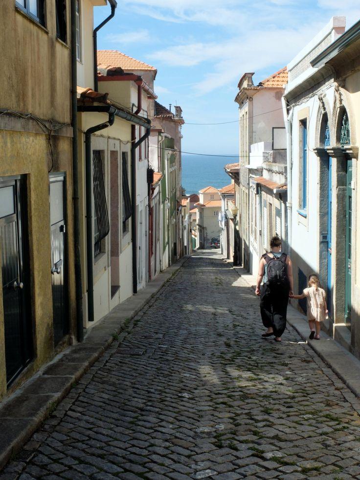 Foz do Douro, en direction de la plage