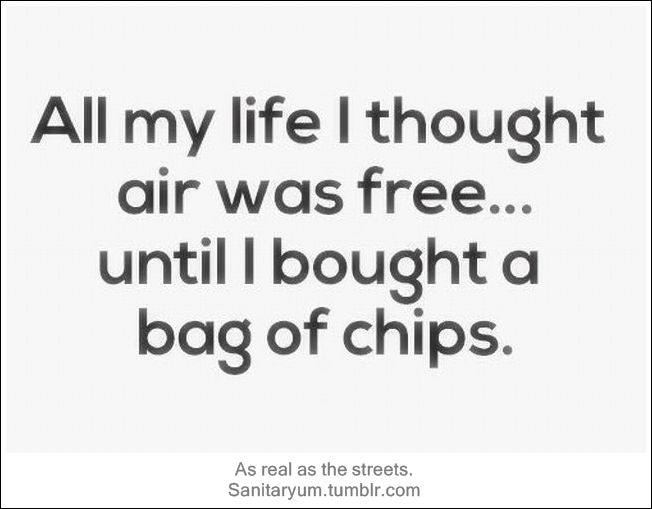 Pinterest Funny Quotes And Sayings: Paying For Air. Strictly Clean Humor At Sanitaryum.tumblr
