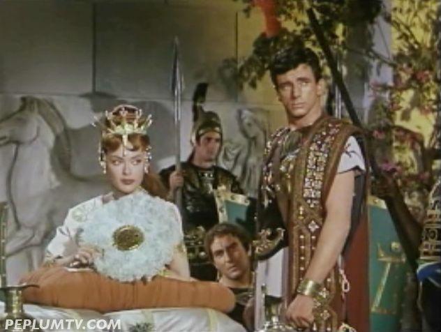 Milly Vitale Richard Wyler in Revak the Rebel