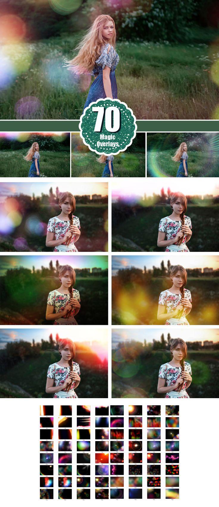 Lens Flare Solar, Rainbow Rays, Sun Lens Overlays, Natural Light, Halo Photo Effect, Film Light Leak Layer, Sun beams and streaks bokeh