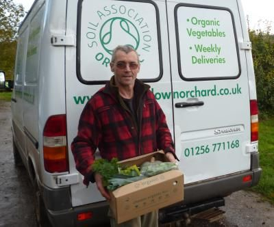 Veg box delivery - Free delivery in the Basingstoke area.