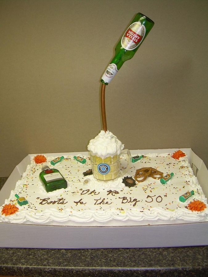 Pictures Of Cake For Guys : 17 Best images about beer cakes on Pinterest 50th ...