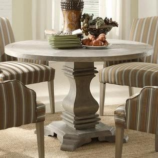 Homelegance Euro Casual Round Pedestal Dining Table