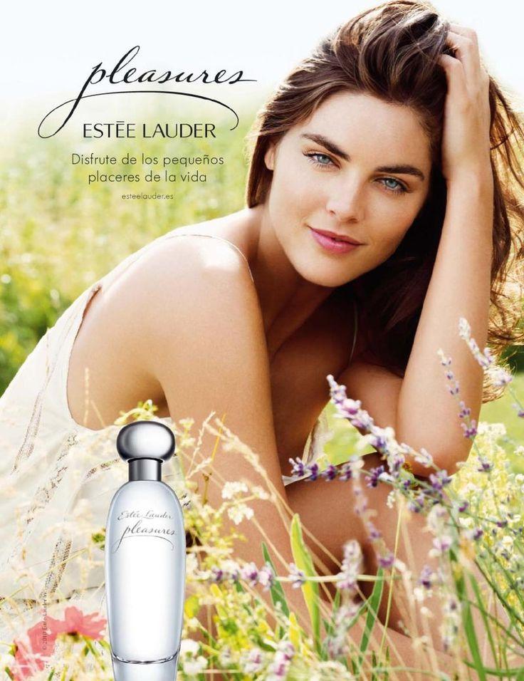 Hillary Rhoda in Estee Lauder Pleasures Fragrance F/W 10 (Estee Lauder)