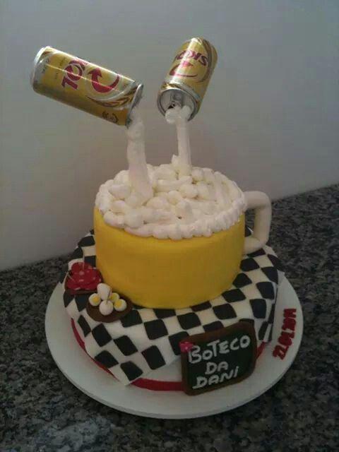 Bolo cerveja / beer cake