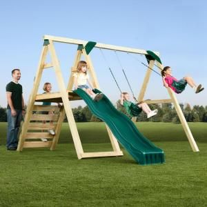 Assemble Yourself Swing N Slide Playsets Pine Bluff Play Set Just