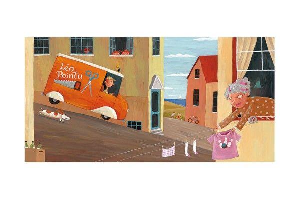 Léo Pointu * Rogé * Acrylic * Illustration * Art * Children's Books