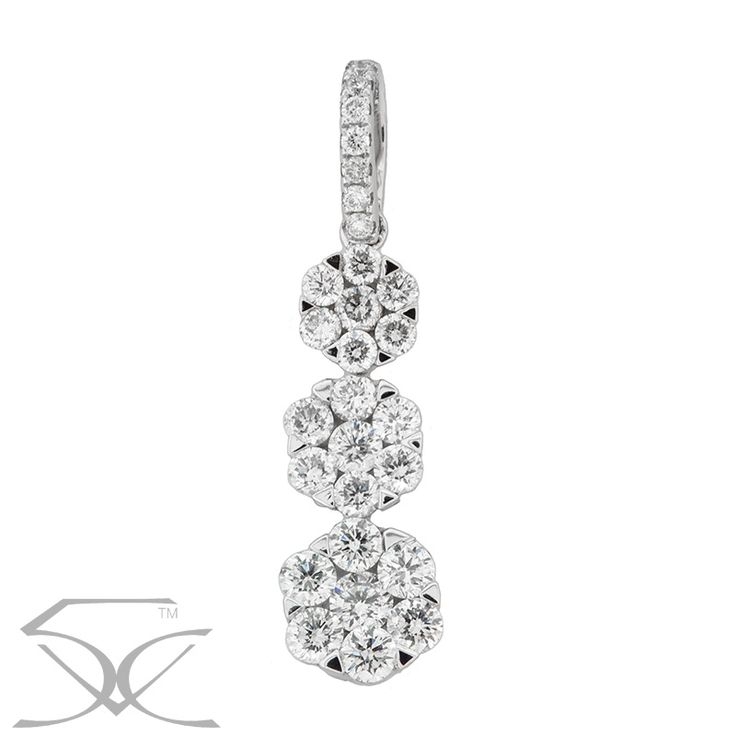 Diamond Cluster Pendant Product ID TWD/DPN555 Diamond Pendant Information Metal: 18K White Gold Minimum Carat Weight: 0.85 carats Minimum Colour: F - G Minimum Clarity: VS1 - VS2 Price: $1,750.00 ex. GST Suite 403, Level 4 250 Pitt Street, Sydney Tel: +61412461008 Please visit us here https://tinyurl.com/ycwaagwn OR view the map link http://ow.ly/Seuv30gZh3L  #White_Gold #Diamonds #TwinkleDiamonds #Diamond_Pendant #Diamond_Cluster_Pendant #Cluster_Pendant