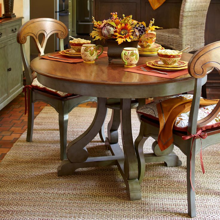 Marchella Dining Table   Sage | Pier 1 Imports