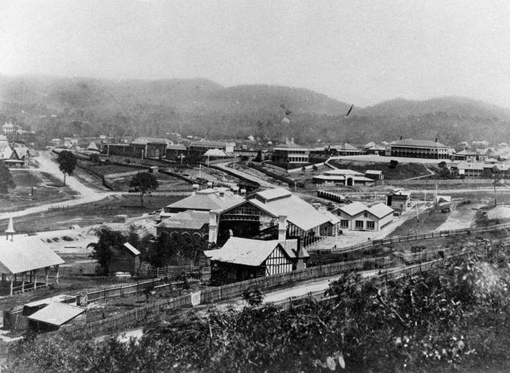1876 Brisbane Roma St Railway Station...  great little almanac for brissie for this year >> https://espace.library.uq.edu.au/view/UQ:211261/Pughs_Almanac_1876.pdf