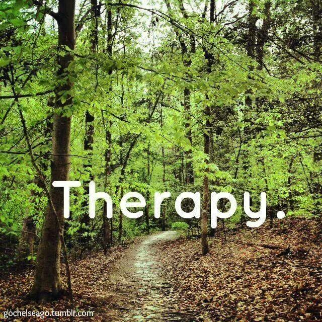 Therapie. Wandelen.