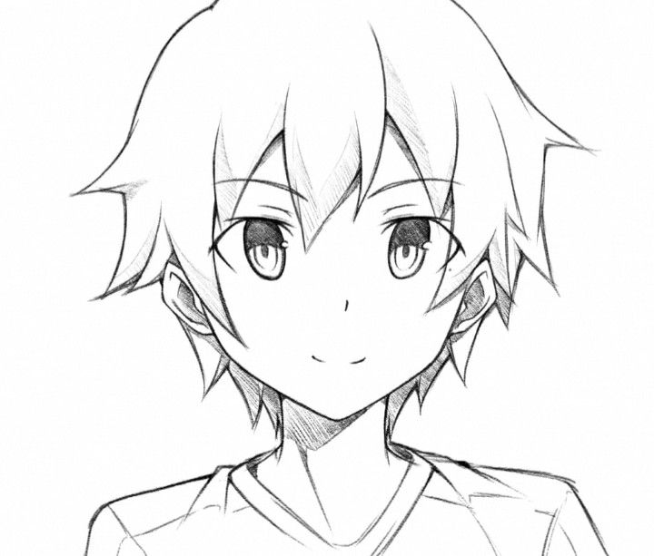 Pin By Meg Z On Artist Stuff Anime Face Drawing Anime Boy Sketch Anime Boy Hair