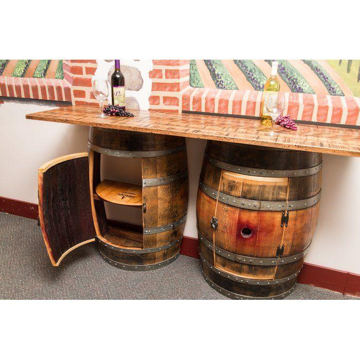 Double Half Barrel Pub Table Wine Barrel Bar Table Barrel Bar Dining Table In Kitchen