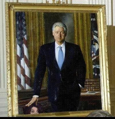 **funny funny article. good chuckle** Kevin Jackson: Bill Clinton's Portrait as it Should Be