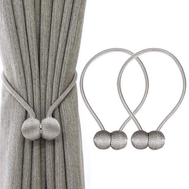 Ihclink Magnetic Curtain Tiebacks Clips Curtain Buckles Holdbacks