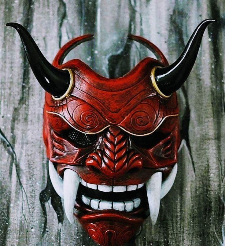 Картинки маски японских демонов
