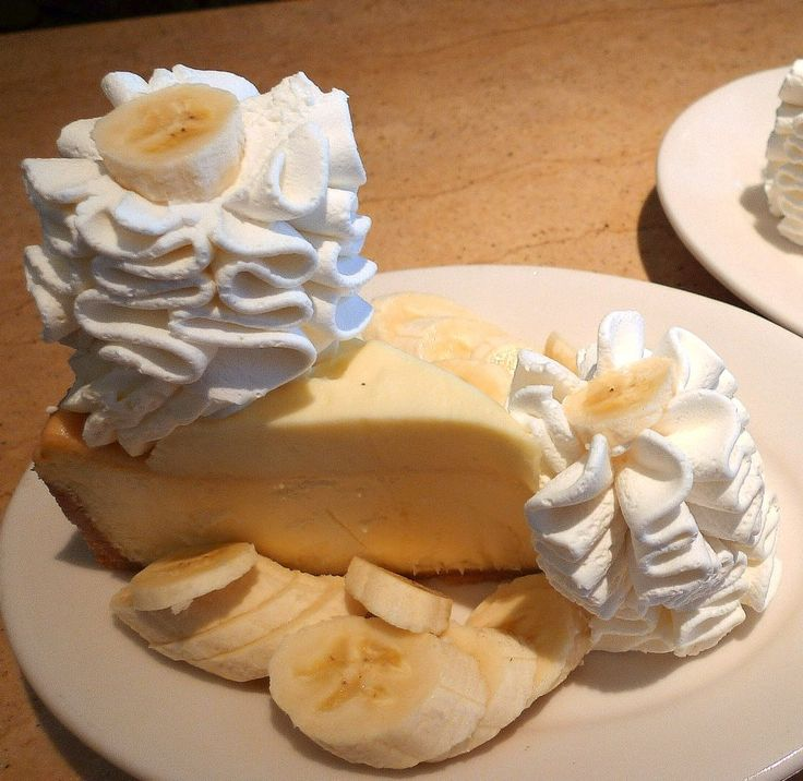 Cheesecake Factory's Banana Cream Cheesecake (copycat recipe)