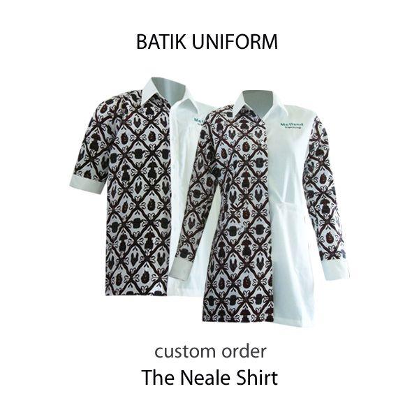 Batik Uniform from Medogh. Yui buat seragm batik perusahaanmu di Medogh :)