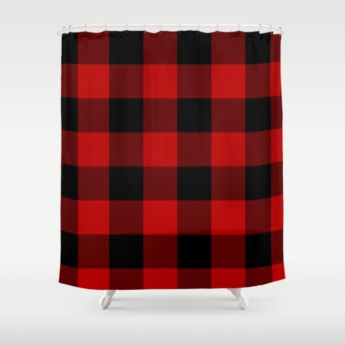 Best 25+ Plaid shower curtain ideas on Pinterest | Buffalo check ...