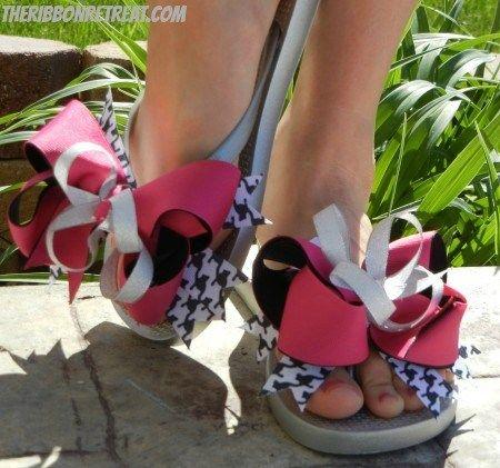 1fe26d79c Interchangeable Flip Flops -  The Ribbon Retreat Blog
