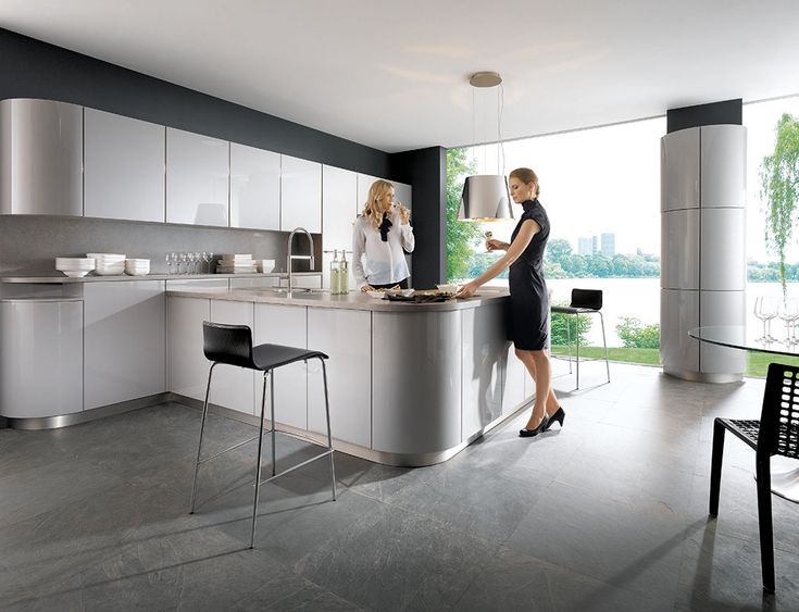 German Kitchens Featuring Curves Are One Of The Latest Innovations That  Keep Schuller In The Forefront Of Kitchen Design Ideas. Part 10