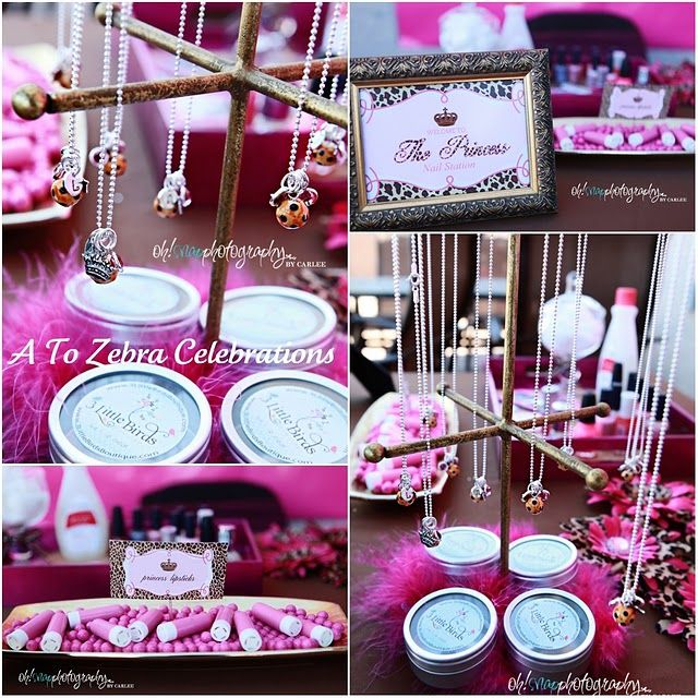Pink And Leopard Royal Princess Birthday Party Beautiful