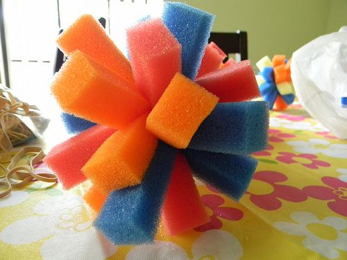 I love this...cheap and easy for pool parties, baths, and water fights!