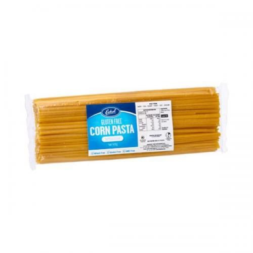 Eskal Fettuccine Gluten Free Pasta 500g: Eskal Pasta d'oro from Sam Mills is the healthy alternative to wheat pasta. It is entirely gluten free, wheat free, egg free, soy free and low in fat, with many nutritional benefits. It contains only corn and water