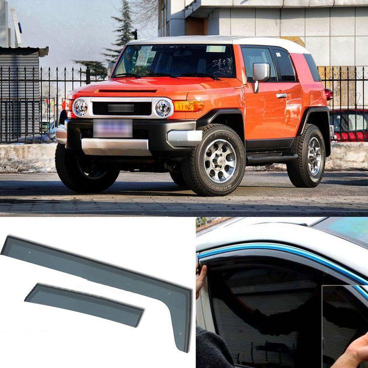 2013 Toyota Fj Cruiser Transmission: 4pcs Blade Side Windows Deflectors Door Sun Visor Shield