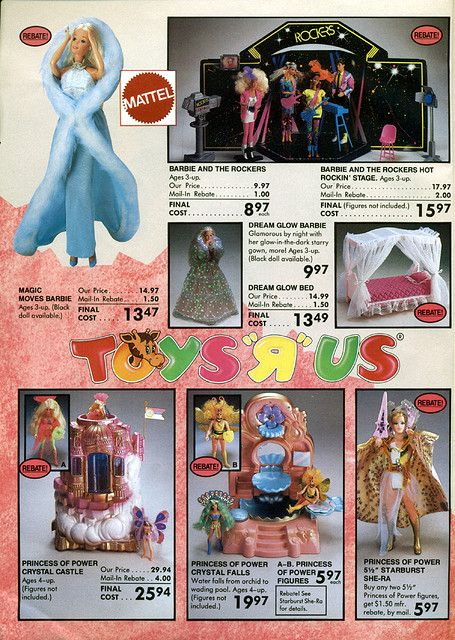 """Princess of Power, 1986-xx-xx Toys """"R"""" Us Toy Book P002 by Wishbook, via Flickr"""