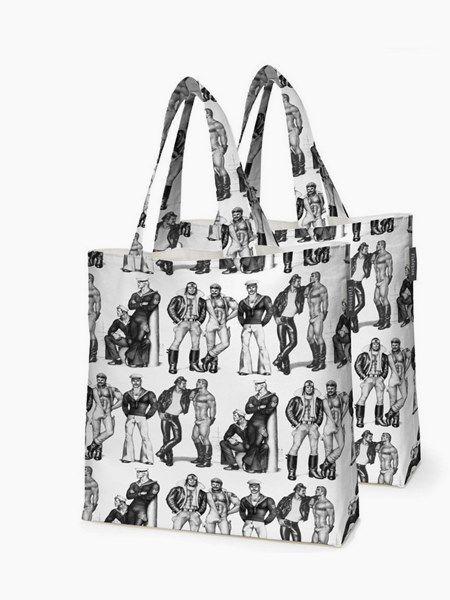 "Tom Of Finland: ""Fellows"" Shopping bag bundle"