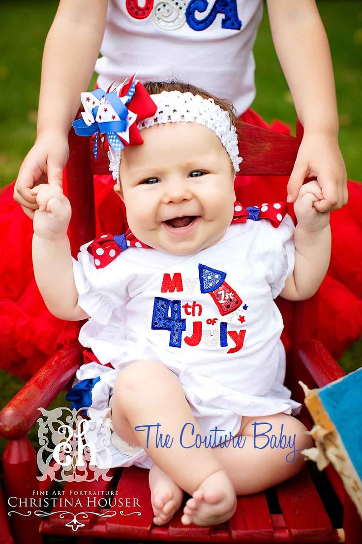 4th of july toddler pictures