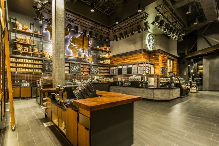 Starbucks store at Disneyland, Anaheim   California hotels and restaurants