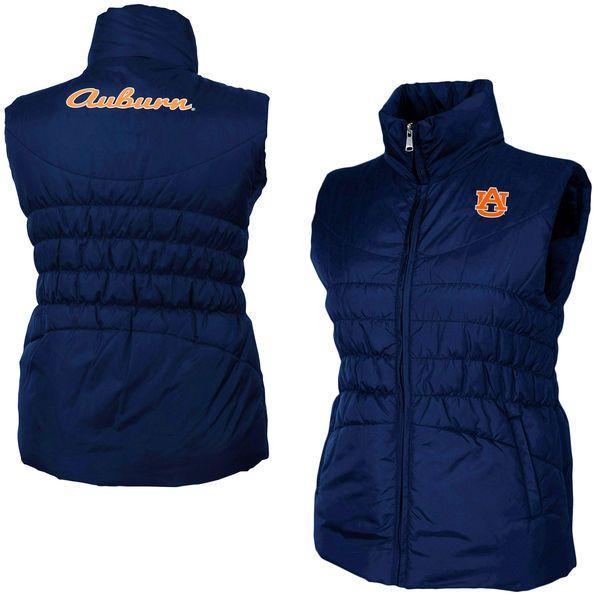 Auburn Tigers Women's Olympia Vest – Navy Blue - $48.99