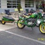 john deere bike and motorcycle trailer