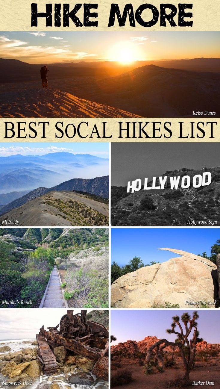 GoAltaCA | This list of California hikes will have you excited to explore the beautiful state.