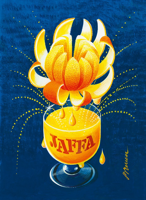 The new Jaffa poster for Hartwall by Erik Bruun.