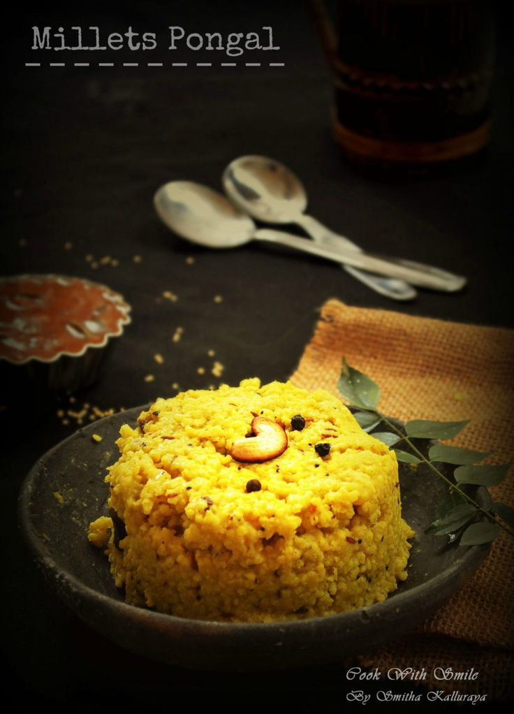 millets pongal recipe, millets recipes