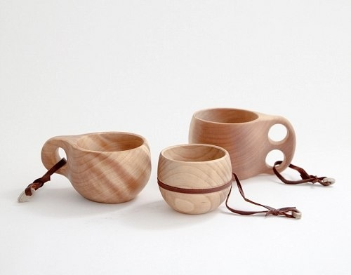 Finnish Camping Cups /kuksa/ I want to go camping with some Finns...