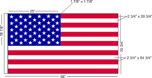 Free sewing pattern and instructions for making your own American flag.  DIY American flag sewing project.  I am dying to try this.  Check it out.