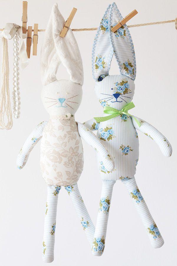 króliczki przytulanki dladziecka forkids handmade rekodzielodladzieci nazamowienie przytulanki