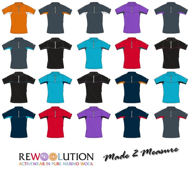 Do you like colors? Choose your personal garment on http://store.rewoolution.it