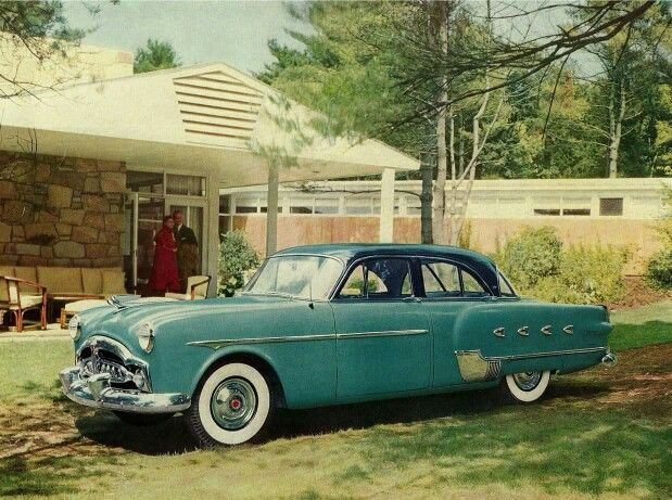 155 best packard 1951 1954 images on pinterest for 1952 packard 4 door sedan