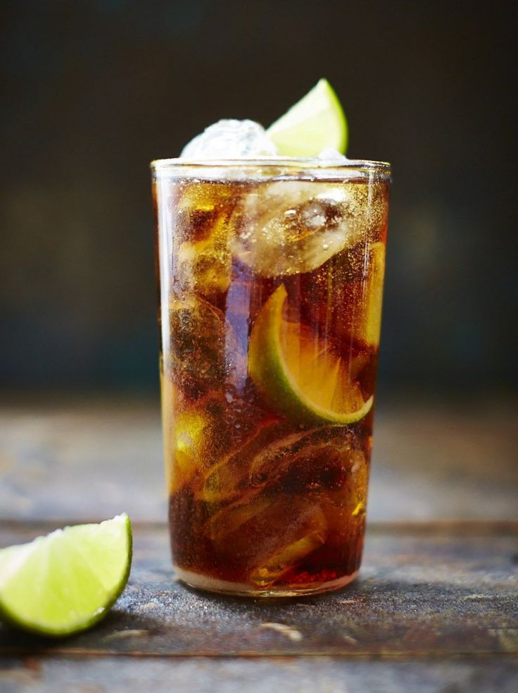 Cuba libre: Method 1. Fill a highball glass with lots of ice  2. Squeeze and drop 2 lime wedges into the glass, coating the ice well with the juices (it really does makes a difference)  3. Pour in the Bacardi Oro, top up with chilled cola and stir gently