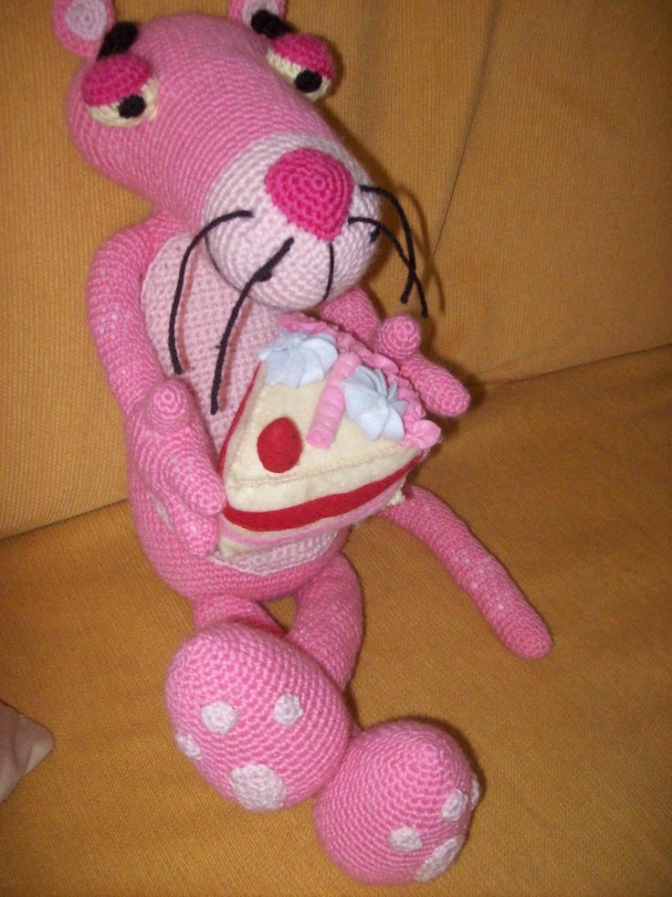 Amigurumi Free Pattern Pink Panther : 101 best images about Pantera rosa on Pinterest ...