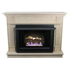 White Indoor Fireplaces You'll Love   Wayfair
