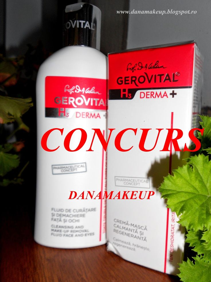 danamakeup.ro: Concurs Gerovital!