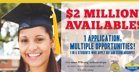 Scholarship Of The Week: FFA Scholarship Programs for Agriculture