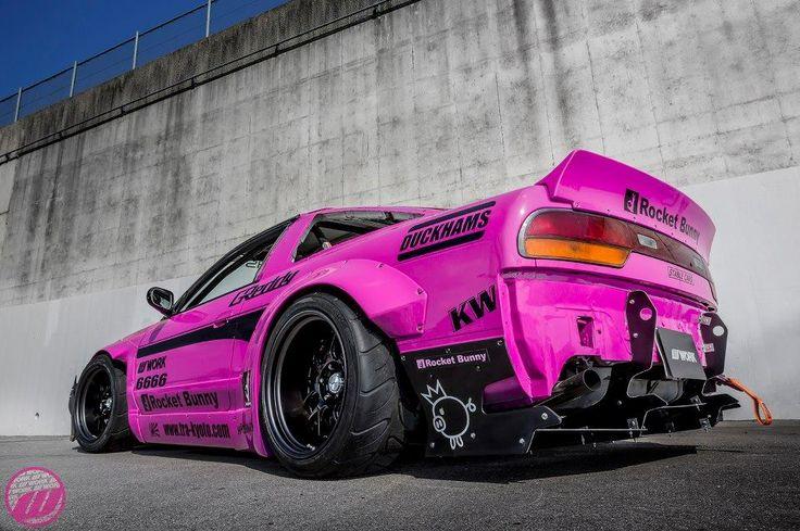 Rocket Bunny Pink 240sx Arita Speed Pinterest
