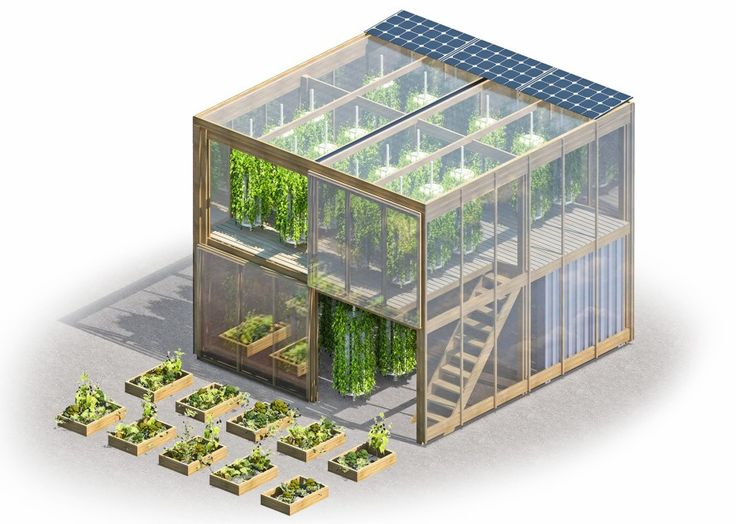 Flatpack Hydroponic Garden Delivers 538 Square Feet Of